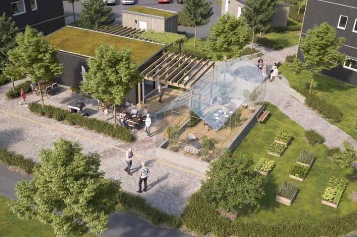 Ikea desenha casas para pessoas com demência - há jardins terapêuticos e espaços para socializar