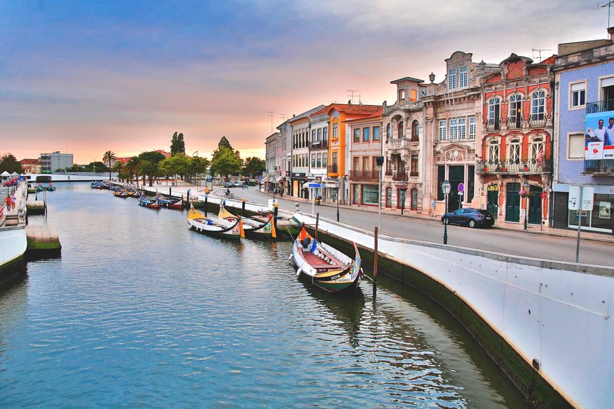 Aveiro - um dos locais mais tranquilos da Europa segundo o The Guardian